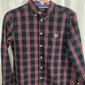 CHAPS   PERFECT for FALL   BOYS SHIRT  LARGE 14/16
